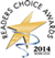 Readers Choise Award